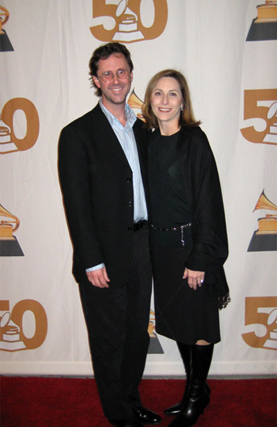 John Merchant at the 50th Annual Grammy Awards