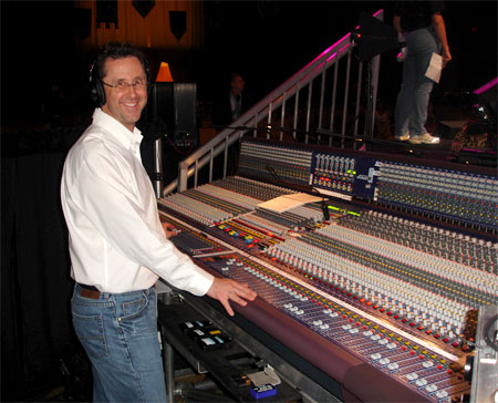 John with the H4000 console